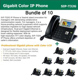 IP Phone Systems SIP-T32G X 10