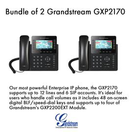 IP Phone Systems GXP2170 X 2