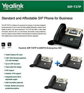 IP Phone Systems SIP-T27P x4