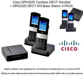 IP Phone Systems SPA302DX2+SPA232DX1