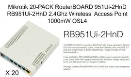 Access Point/ Outdoor RB951Ui-2HnDx20