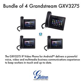 IP Phone Systems GXV3275 X 4