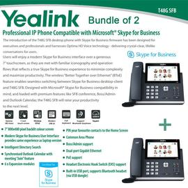 IP Phone Systems SFB-T48G X 2