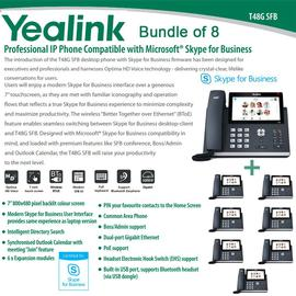 IP Phone Systems SFB-T48G X 8