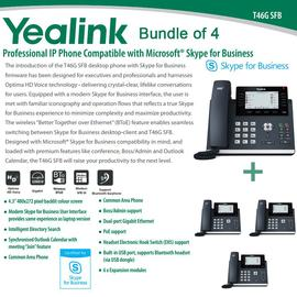 IP Phone Systems SFB-T46G X 4