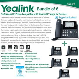 IP Phone Systems SFB-T46G X 6