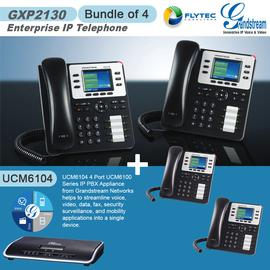 IP Phone Systems GXP2130+UCM6104X4