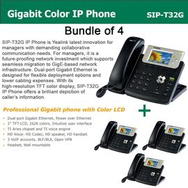 IP Phone Systems SIP-T32G X 4