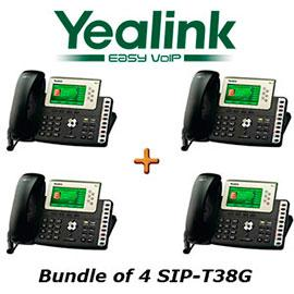 IP Phone Systems SIP-T38G X 4