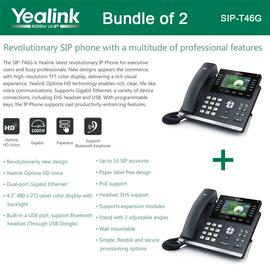 IP Phone Systems SIP-T46G X 2