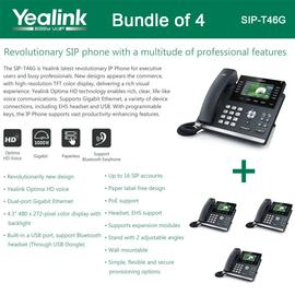 IP Phone Systems SIP-T46G X 4