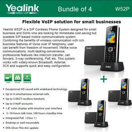 IP Phone Systems W52P X 4