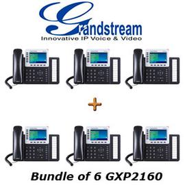 IP Phone Systems GXP2160 X 6