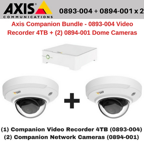 axis communications 0893 004 video recorder poe 8 channel. Black Bedroom Furniture Sets. Home Design Ideas