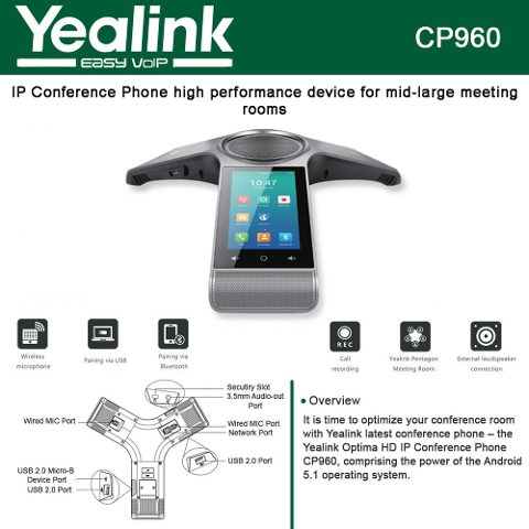 Bluetooth Conference Room Phone