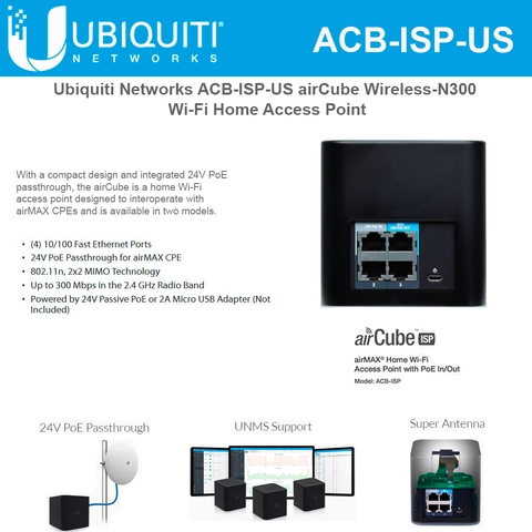 Wifi Ubiquiti Products Pre-configured