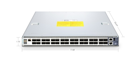 N8500-32C (32*100GbE) 100G SDN Switch with L2/L3 ICOS